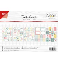 Noor! Design - 6011/0428 - Labelvellen - Noor - Design At the beach