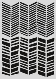 Pronty Mask stencil - Visgraat 470.802.057 A5