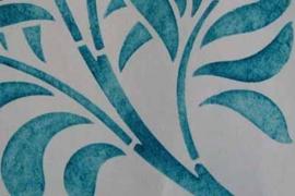 Sjabloon folie Vinyl 19,5 x 30 cm (TIJDELIJK)
