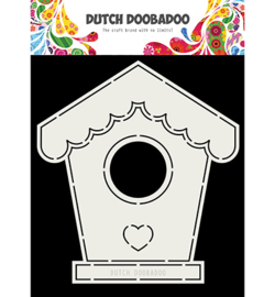 Dutch Doobadoo - 470713710 - Card art Birdhouse