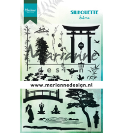 Marianne D Stempel CS1033 - Silhouette Sakura