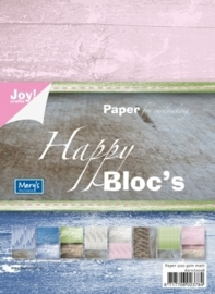 Joy! Happy bloc - hout