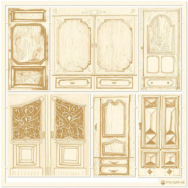 Piatek13 - Chipboard embellishments Garden of Books 04 P13-GAR-46