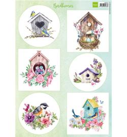 Marianne D Knipvel VK9573 - Birdhouses spring