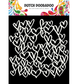 Dutch Doobadoo - 470.715.623 - Mask Art hearts