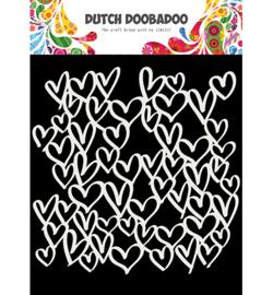 Dutch Doobadoo - 470.715.623 - Mask Art hearts