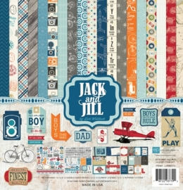 Echo Park Jack & Jill Boy 12x12 Inch Collection Kit (JJB80016)