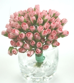 Tiny Rose Buds - Pale Pink