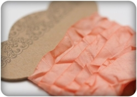 ScrapBerry's Shabby Ribbon Peach 10 mm 1 m (SCB510109)