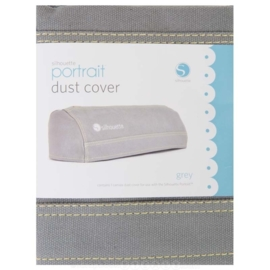 Silhouette Portrait Dust Cover Grey