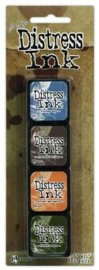 Ranger Distress Mini Ink Kit 9 TDPK40392 Tim Holtz