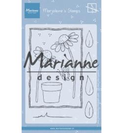 Marianne D Stempel MZ1903 - Marjoleine's daisies