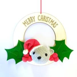 Haakpakket Kerstkrans Beertje