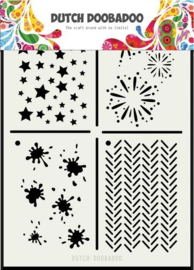 Dutch Doobadoo - 470715131 - Mask Art Multi stencil 2