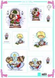 Marianne D 3D Knipvellen Don & Daisy Christmas Joy - DDK3216
