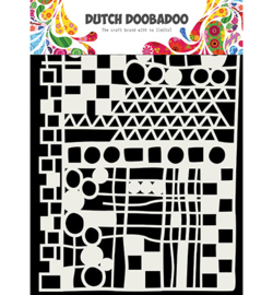 Dutch Doobadoo - 470715137 - Mask Art Geo mix