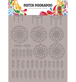 Dutch Doobadoo - 492.006.007 - Greyboard Art Dreamcatcher