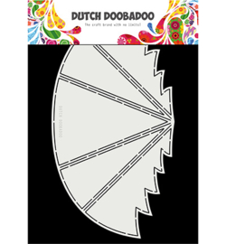 Dutch Doobadoo - 470713340 - Dutch Card art Winter tree