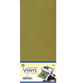 Vinyl sheets - 3.0540 - Mirror Vinyl, Gold