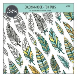 Sizzix Colouring Book - Fox Tales 661532 Jen Long