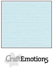 CraftEmotions linnenkarton - babyblauw LHC-35 A4 250gr