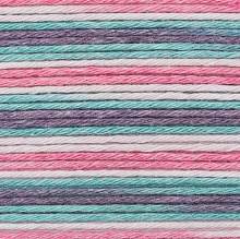 Rico Design - Baby Cotton Soft Print dk 383040.020 Pink - Turquoise