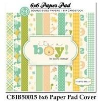 Carta Bella It´s a Boy 6x6 Inch Paper Pad (CBIB50015)