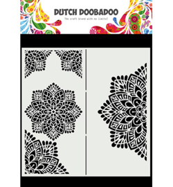 Dutch Doobadoo - 470.784.001 - Mask Art Slimline Mandala