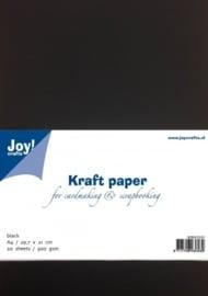 Kraftpaper - zwart