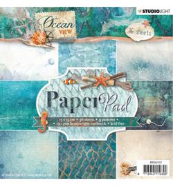 Studio Light PPOV117 - Paper Pad, Ocean View nr.117