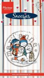 Marianne D Stempel Snoesjes Snowman HM9473