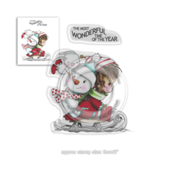 Polkadoodles Winnie Wonderful Time Clear Stamps (PD7964)