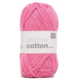 Rico Design - Creative Cotton Aran 64 Candy Pink