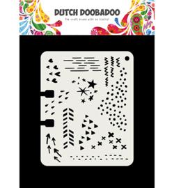 Dutch Doobadoo - 470715901 - Mask Art Rollerdex Doodle Mix