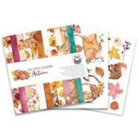 Piatek13 - Paper pad The Four Seasons - Autumn, 6x6 P13-AUT-09
