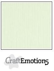 CraftEmotions linnenkarton - lichtgroen LHC-34 A4 250gr