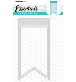 Studio Light STENCILSL96 - Embossing Die Cut Stencil Essentials nr.96
