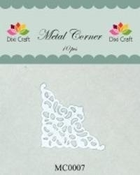 Dixi Craft Metal Corner 35x35 mm wit - MC0007