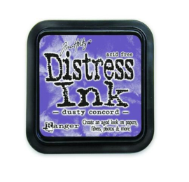 Ranger Distress Inks pad - dusty concord stamp pad TIM21445 Tim Holtz