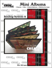 Crealies stans Mini Albums Bindsysteem A CLMA07 59x165mm