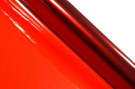 Cellofaan folie rood 70x500cm