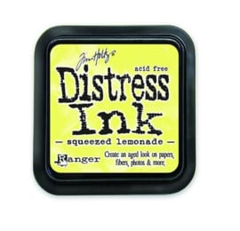 Ranger Distress Inks pad - squeezed lemonade TIM34940 Tim Holtz