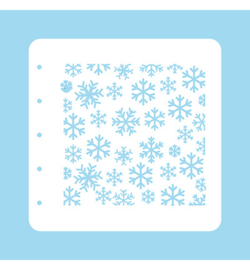 Nellie`s Choice - COLST004 - Stencil Christmas Time -Snowflakes-