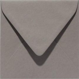 Papicolor Envelop vierk. 14cm muisgrijs 105gr-CV 6 st 303944 - 140x140 mm