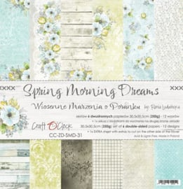 "Paper Collection Set 12""*12"" Spring Morning Dreams, 250 gsm"