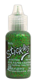 Ranger Stickles Glitter Glue 15ml - holly SGG01812