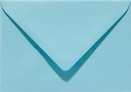 Papicolor Envelop C6 azuurblauw 105gr-CV 6 st 302904 - 114x162 mm