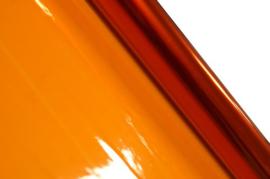 Cellofaan folie oranje 70x500cm