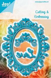 Joy! crafts - Noor! Design - Die - Oval - Sophia - 6002/1112