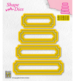 Nellie`s Choice - SD206 - Set of 4 tags-5